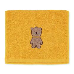 Sterntaler Kinderhandtuch Ben gelb 50 x 30 cm
