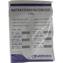 MATRATZEN SCHUTZBEZUG Folie 0,1 mm 100x200 cm weiß 1 St