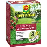 Floranid Rasendünger plus Unkrautvernichter 6 kg