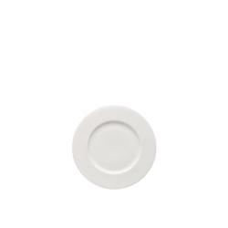 Rosenthal Frühstücksteller Brillance Weiß Frühstücksteller 19 cm Fahne, (1 Stück)