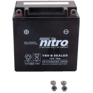 Batterie 12V 9AH YB9-B Gel Nitro CM 200 T MC01 81-84