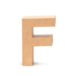 VBS Deko-Buchstaben Papp-Buchstabe, 17,5 cm hoch 11.5 cm x 17.5 cm x 5.5 cm