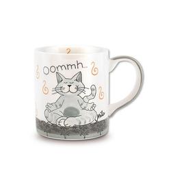 Mila Becher Mila Keramik-Becher Oommh Katze Pure, Keramik