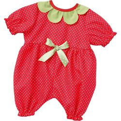 Emil Schwenk Puppenkleidung Puppenkleidung Baby-Anzug Erdbeere, Gr. 43