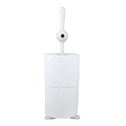 KOZIOL Toilettenpapierhalter Toq Solid Weiß, für 2 Rollen