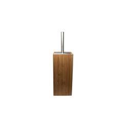 HTI-Living Toilettenpapierhalter Toilettenbürste aus Bambus