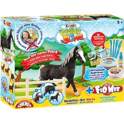 CRAZE Knete Cloud Slime meets Flo-Mee - Horse Set