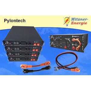 PYLONTECH LiFePO4 48V - Batterie mit Batteriemanagement, wahlweise Schrank&Kabel