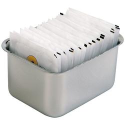 APS Zuckertüten-Box 9 x 75 cm Höhe 5 cm Edelstahl matt poliert für ca. 15 Zuckertüten VE 50 Stück 11579