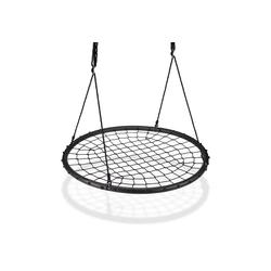relaxdays Nestschaukel Nestschaukel mit Netz 120 cm