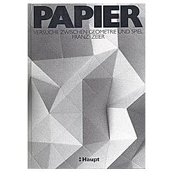 Papier. Franz Zeier  - Buch