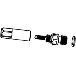 Stutzen für Hydraulikleitung Reverb Sattelstütze, 10 Stück
