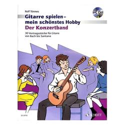 Gitarre spielen - Mein schönstes Hobby, der Konzertband + CD
