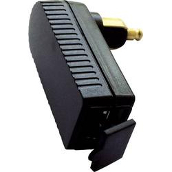 BAAS USB Winkeladapter/Lader 2A für kleine DIN-Steckdosen Belastbarkeit Strom max.=2A