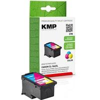 KMP C98 color Druckkopf ersetzt Canon CL546XL 300 S. Refilled Kompatible Druckerpatrone,