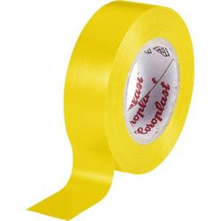 Coroplast 302 302-10-YE Isolierband Gelb (L x B) 10m x 15mm
