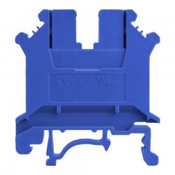 Reihenklemme 6mm2 Schraubklemme Blau VDE UL 5729