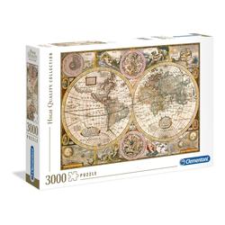 Clementoni® Puzzle Puzzles 3000 Teile Clem-33531, Puzzleteile bunt
