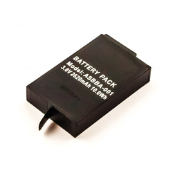 Akku passend für GoPro Fusion, Li-Polymer, 3,7V, 2700mAh, 10,0Wh