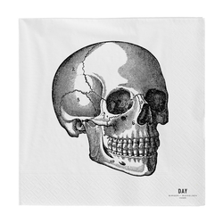 Day Home Papier Servietten Skull