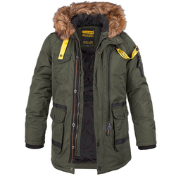 Poolman Glenwood Hooded Winter Parka (Sale) oliv, Größe S