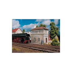 PIKO Modelleisenbahn-Set PIKO Spur H0 Bausatz Stellwerk Burgstein