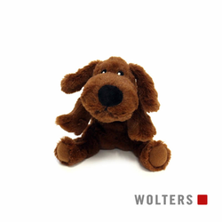 Wolters Plüschhund braun, Maße: 20 cm