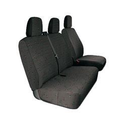 Sitzbezüge für Kleintransporter, grau, für CITROen, Fiat, Ford, Opel
