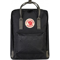 Fjällräven Kanken black striped