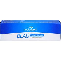 NEPROSPORT Gel blau 100 ml