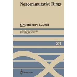 Noncommutative Rings als Buch von