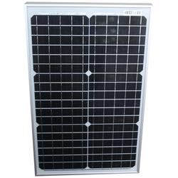 Phaesun Solarmodul Sun Plus 30 S, W, 12 VDC silberfarben Solartechnik Bauen Renovieren