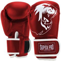 Super Pro Boxhandschuhe Talent rot 8