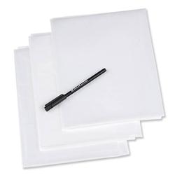 PRYM Schnittmusterfolien, mit Stift, 100% Kunststoff-Folie, Zubehör, Patchwork- & Quiltzubehör