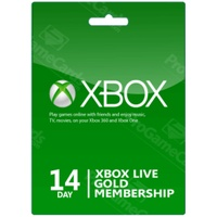 Microsoft Xbox Live Gold (14 Tage Trial)