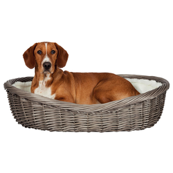 Trixie Weiden-Hundekorb grau, Außenmaße: 60 cm