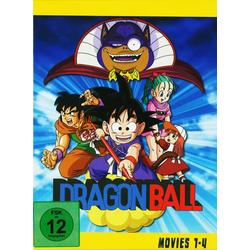 Dragonball - Movie 1-4  [4 DVDs]