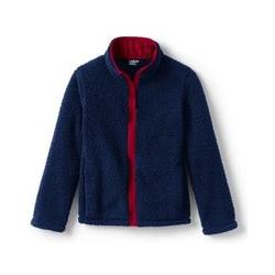 Jacke aus Teddyfleece - 134/152 - Blau