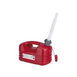 Kraftstoffkanister Pressol mit flexiblem Auslauf Farbe rot 5000ml