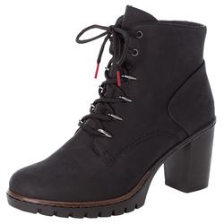 Rieker Stiefelette, aktueller Werbeartikel schwarz Damen Fashion Komfort Schuhtrends für Stiefelette