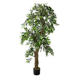 Kunstpflanze Eukalyptusbaum Eukalyptus Künstliche Pflanze Kunstbaum 165 cm Decovego, Decovego
