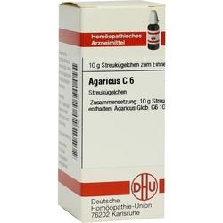 AGARICUS C 6 Globuli 10 g