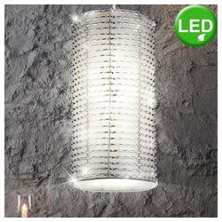 etc-shop LED Pendelleuchte, Pendelleuchte LED Pendellampe Hängeleuchte Hängelampe Lampe Leuchte Sparkling 914070+89537