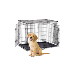 relaxdays Hundekäfig Faltbarer Hundekäfig Größe S-XXXL 92 cm x 62 cm x 69.5 cm
