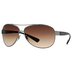 RAY BAN Sonnenbrille RB3386 grau L