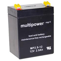 Blei-Akku Multipower MP2.9-12, 12 Volt, 2,9 Ah