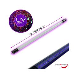 SATISFIRE Discolicht UV60-DP • UV LED Schwarzlichtröhre 60cm • 10W • T8 • für LED Fassungen • Blacklight