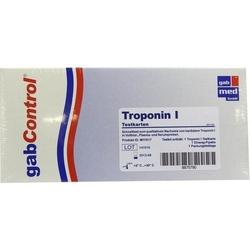 TROPONIN Schnelltestkarte Vollblut Serum Plasma 1 St