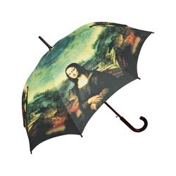 von Lilienfeld Stockregenschirm Regenschirm Mona Lisa, Holzgriff