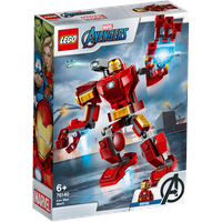 Lego Marvel Super Heroes Iron Man Mech 76140